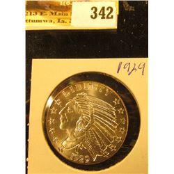 1929 Indian One Half Troy Ounce .999 Fine Silver PCN grading service certified PR. 70. (for whatever