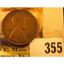 1931 S Rare Date Lincoln Cent, VF+.