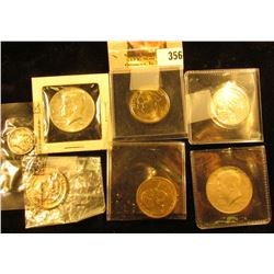 1941 P Mercury Dime in Littleton Coin Company cellophane; 1789 Proof Set Medal; pair of 1967 P 40% S
