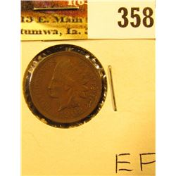 1902 Indian Head Cent, EF.
