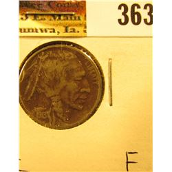 1913 D Type Two Buffalo Nickel, Fine, Dark.