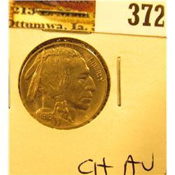 1916 P Buffalo Nickel, Choice AU.