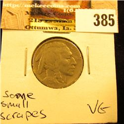 1926 S Buffalo Nickel, VG. some small scrapes.