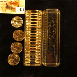 "Fancy Plastic case labeled ""Presidential Dollar Keeper"", contains (20) National Parks, Territories,"