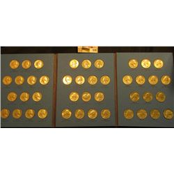 1965-88 Complete Set of clad Washington Quarters in a blue Whitman folder. ($10.50 face value).