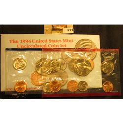 1994 P & D U.S. Mint Set. Original as issued. Issued at $8.00