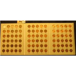 1975-2013 Complete Set of Circulation Strike Lincoln  Cents in a Harris Coin folder. Many specimens