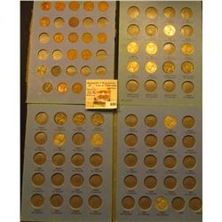 Partial Nickel Set and a partial Cent set which includes (3) Indian Cents, couple of Steel Cents, co