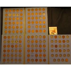 (2) 1941-68 Partial Set of U.S. Lincoln Cents in a blue Whitman folders. One includes a Canada Cent.