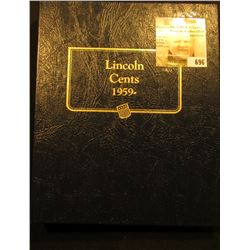 1959-2007S Partial Set of U.S. Lincoln Cents in a Deluxe Whitman Album. Includes some BU & Proof coi