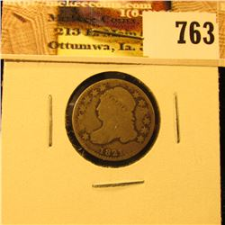 1821 Capped Bust Dime, Very Good