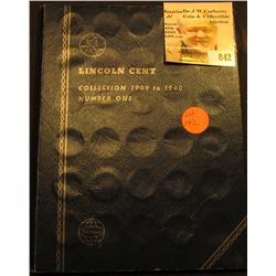 71 different Lincoln Cents in a Whitman coin folder 1909-40. Includes 1912D, 13D, 15 P, D, 23S, 26S,