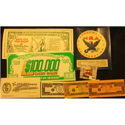 "World War II Window card in Mint condition ""Consumer's NRA U.S. Co-Operation In the National Effort"