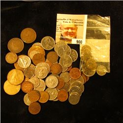 """(2) """"One Fare The Long Island Railroad"""" tokens; (10) New York City Transit Tokens; & $6.17 face valu"""