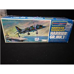 HARRIER GR BATTERY OPERATED PLANE NEW IN BOX