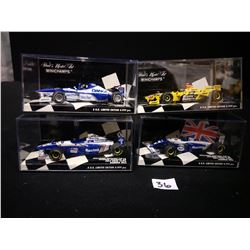 4 LIMITED EDITION DAMON HILL 1996,94,97,98