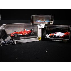 HOTWHEELS/MINI CHAMPS/RENAULT TOYS RACE CARS LIMITED EDITION