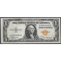 1935A $1 Silver Certificate WWI Emergency North Africa Note