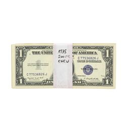 Lot of (200) 1935 $1 Silver Certificate Notes
