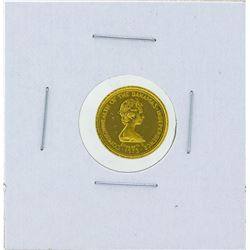 1973 $10 Commonwealth of the Bahamas Gold Coin