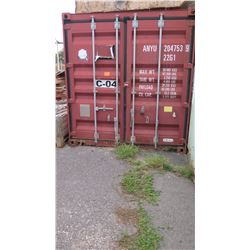 20-Foot Storage/Shipping Sea Container