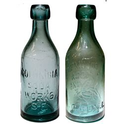 San Francisco Mint Refiner Soda Bottle, c 1876