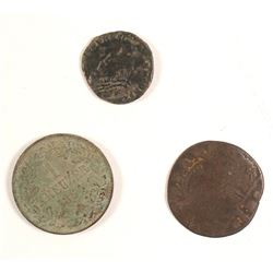 Three Historic Coins Found in Nevada Mining Camps