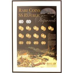 Rare Coins of SS Republic Poster