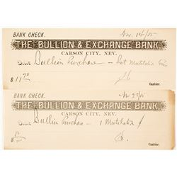 Bullion & Exchange Bank Receipts for Mutilated Coins