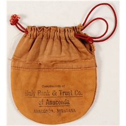 Daly Bank & Trust Gold Dust Bag