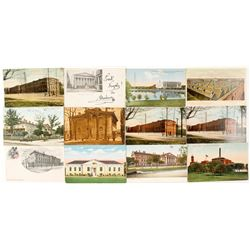 Numismatic Postcards (Mint, Assay, Bank)