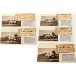 """The General"" Railway Scrip and Postcard Set 2"