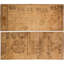 Palace Mills 25 Cent Note