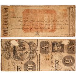 $1 Palace Mills Note