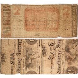 $2 Palace Mills Note