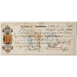 New Orleans First of Exchange for Leverich & Company