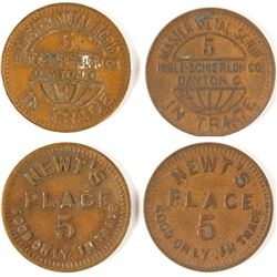 Newt's Place Tokens, Holt, Alabama