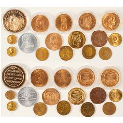 Washington and Lincoln Medals