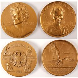 Director of the Mint Eva Adams Bronze Medals