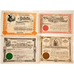 Cripple Creek Mining Stocks, 4 Different