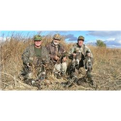 3 DAY DUCK, GOOSE, & GROUSE COMBO FOR 2 HUNTERS