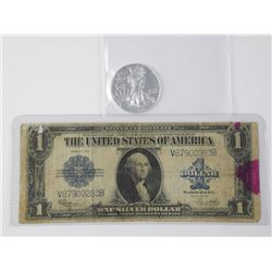 Lot USA Series 1923 - One Dollar Silver Certificat