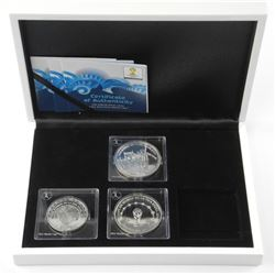 3x RCM - FIFA Silver Coins 2014 World Cup with Dis