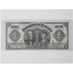 Dominion of Canada - 1911 One Dollar Note 'Boville