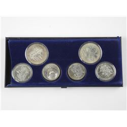 6x Russian Silver Olympic Coins 133.7gr = 3.8687oz