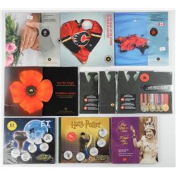 10x RCM - Gift Folios with UNC Coins, Special Issu