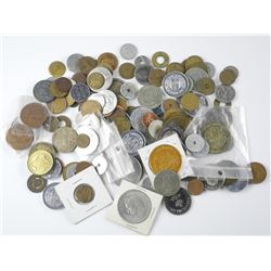 Estate Lot Mixed Coins and Medals