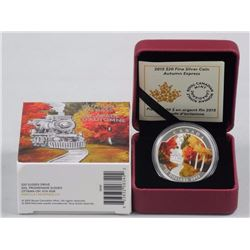 2015 - .9999 Fine Silver Coin 'Autumn Express' LE/