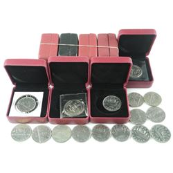 20x Canada Nickel Dollar Coins. Mix Dates