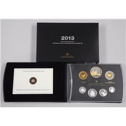 2013 - RCM Fine Silver Proof Set 1st Year No Penny